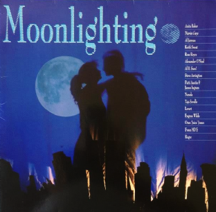V/A - Moonlighting (LP) (VG/VG-)